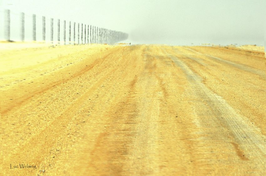 On the road again, Namibie , 2010