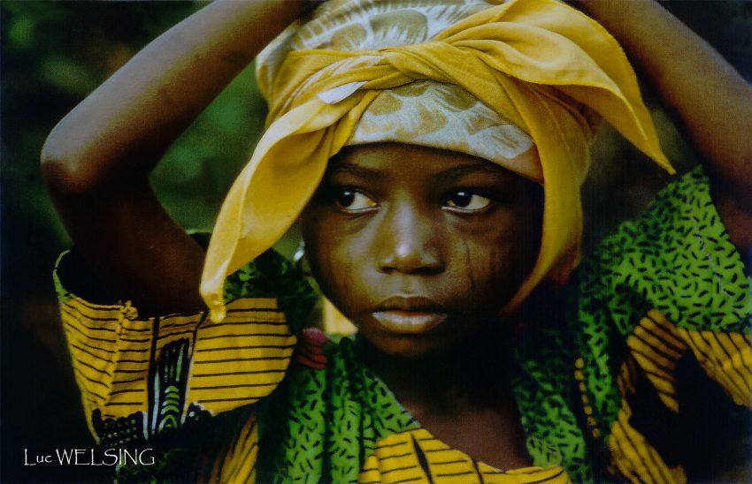 Petite béninoise, 1994 Mon premier portrait