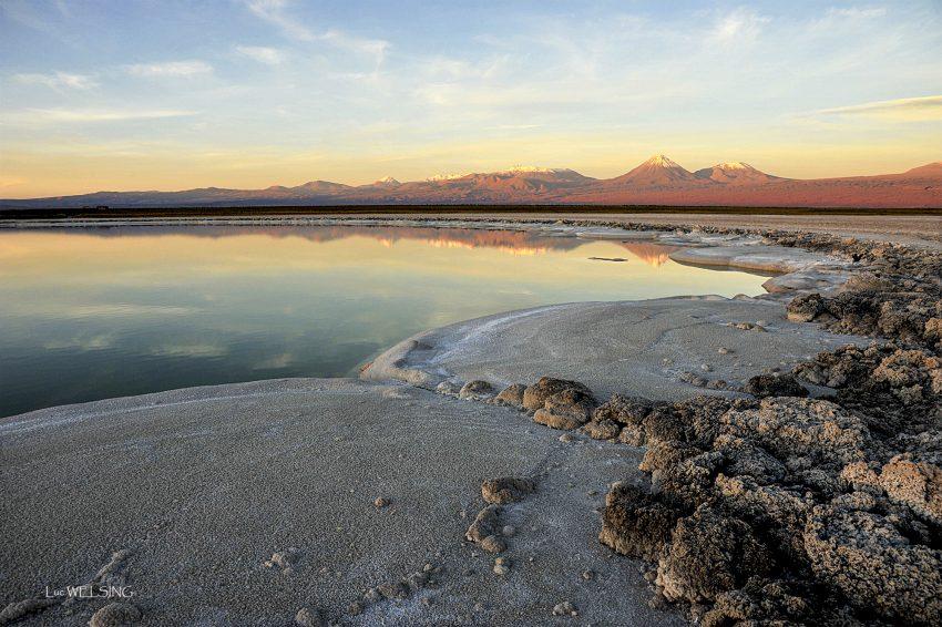 """une des nombreuse """"laguna"""" proches de San Pedro de Acatam, Chili, 2011"""
