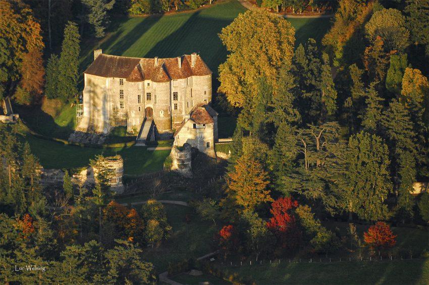 Le Chateau d'Harcour, Normandie, Octobre 2008