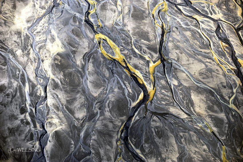 Rivieres sous marines, près d'Hofn, côte Est, Islande 2012
