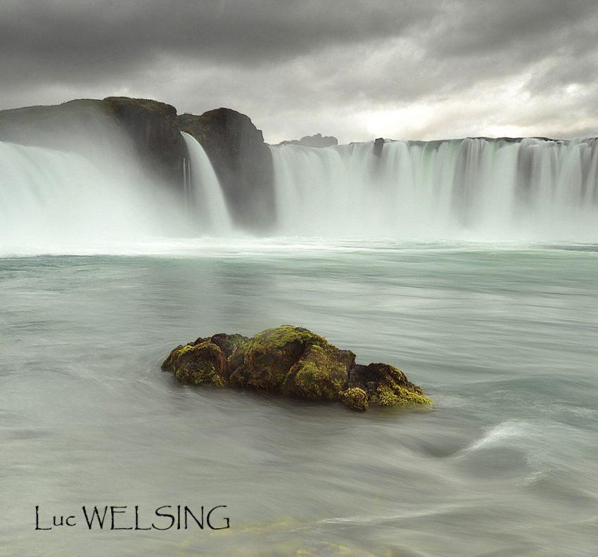 Godafoss la cascade des dieux, Islande 2012