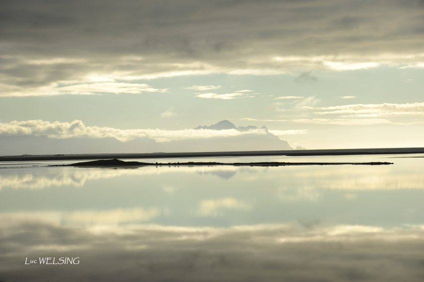 au loin la côte Est, Islande 2012