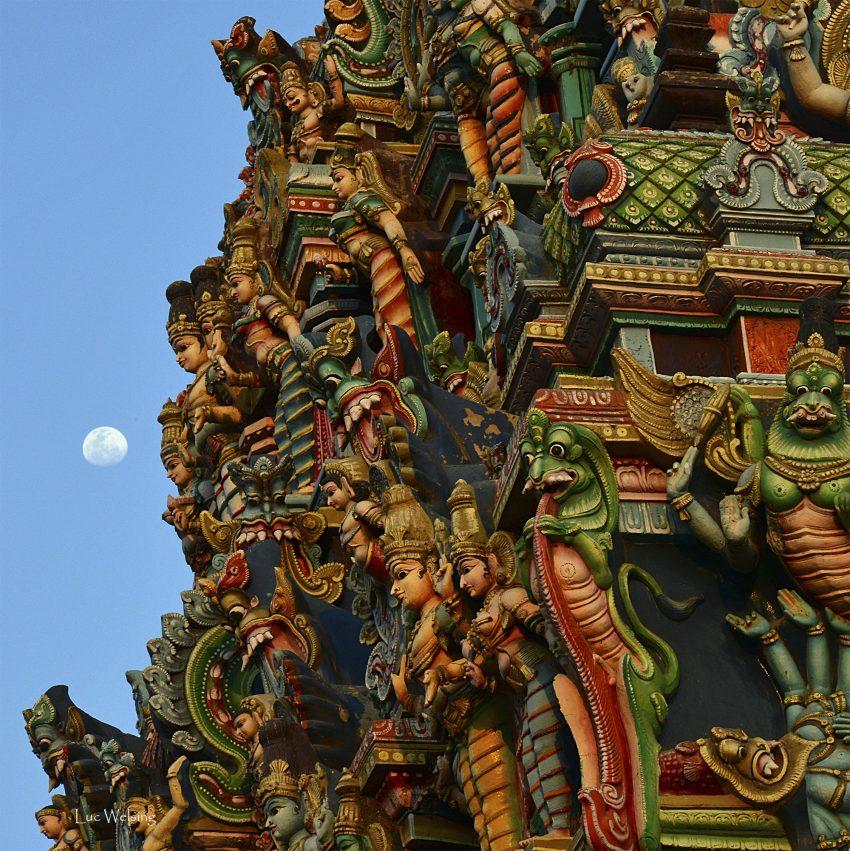 Temple hindou, Mars 2013