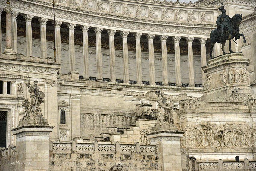 Rome, juste après la pluie,  Juin 2015