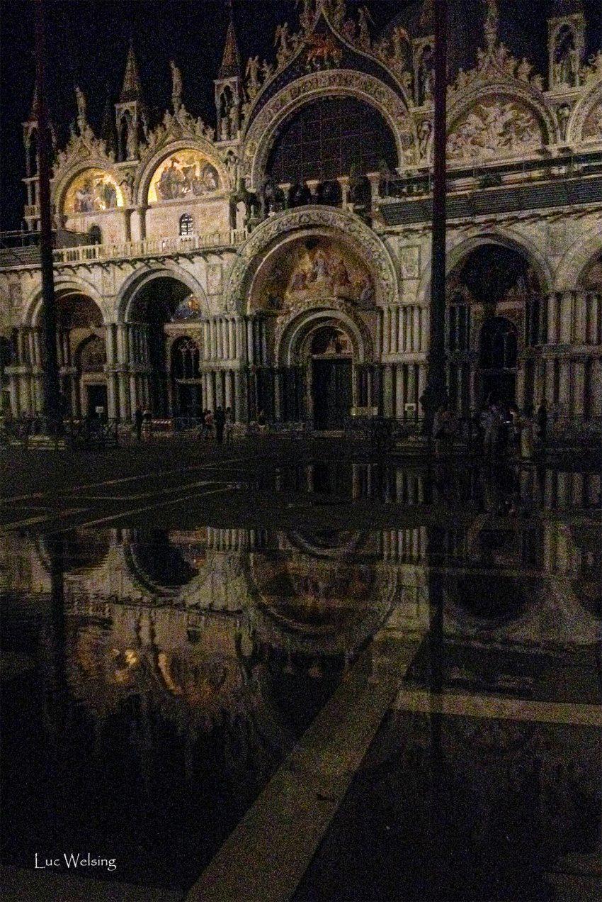 La Basilique Saint Marc sur la place du même nom, Venise, Juin 2018