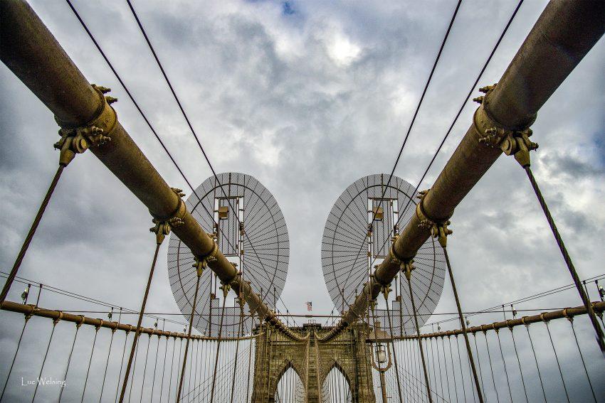 Le pont de Brooklyn, NYC, Mai 2019