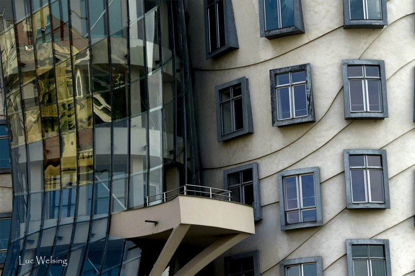 Fantaisie d'architecte, Prague,  septembre 2018